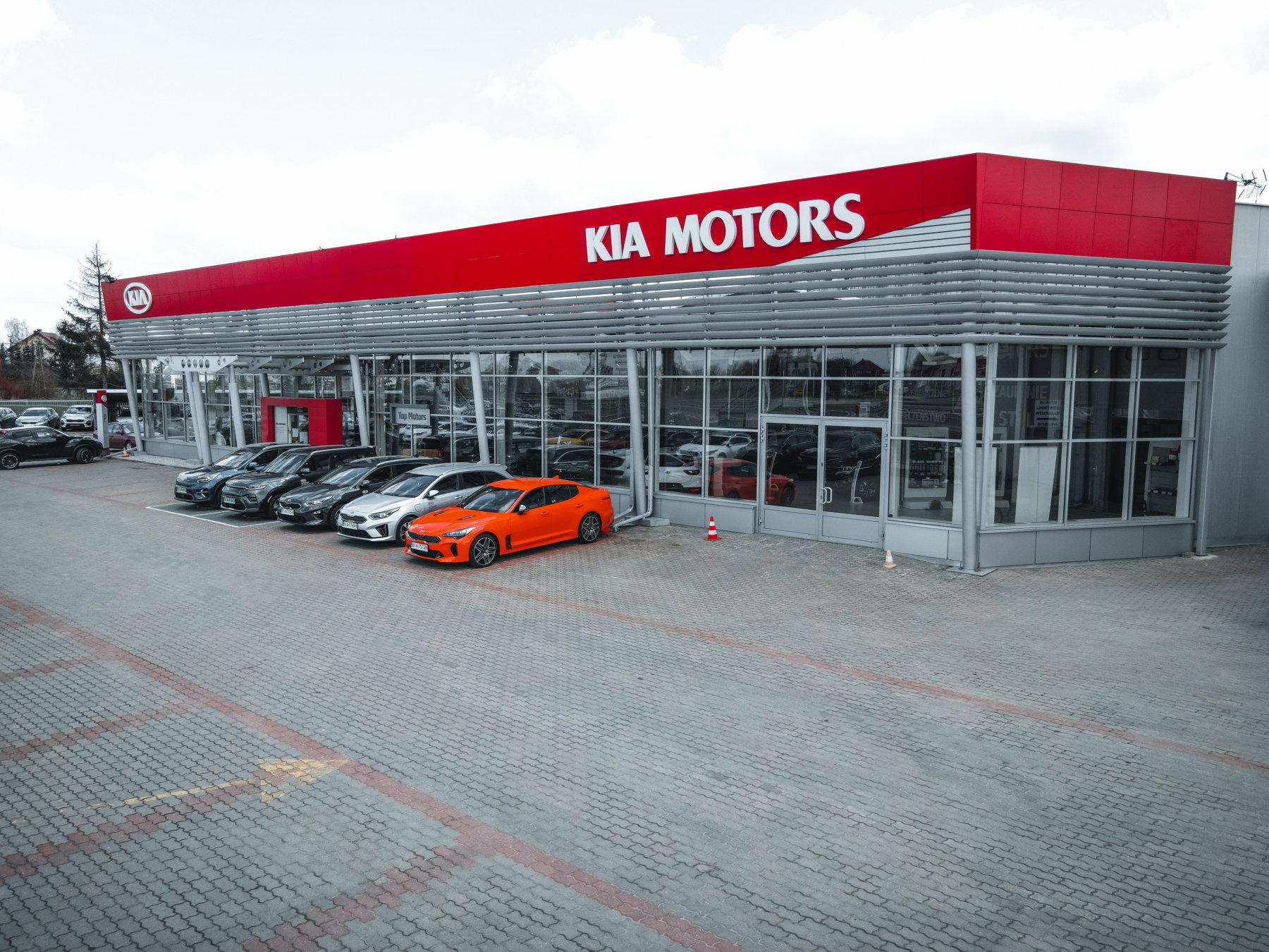 Salon sprzedaży - KIA Top Motors Białystok